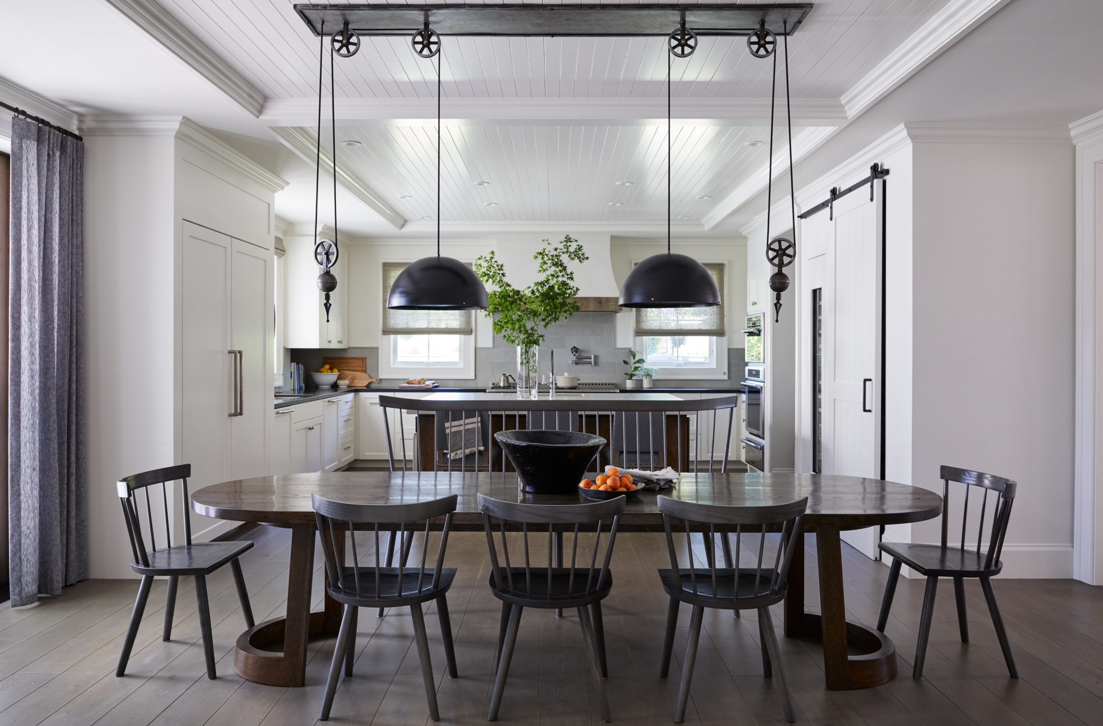Jennifer_robins_interiors_projects_healdsburg_1_kitchen_dining_room_table_lookthrough